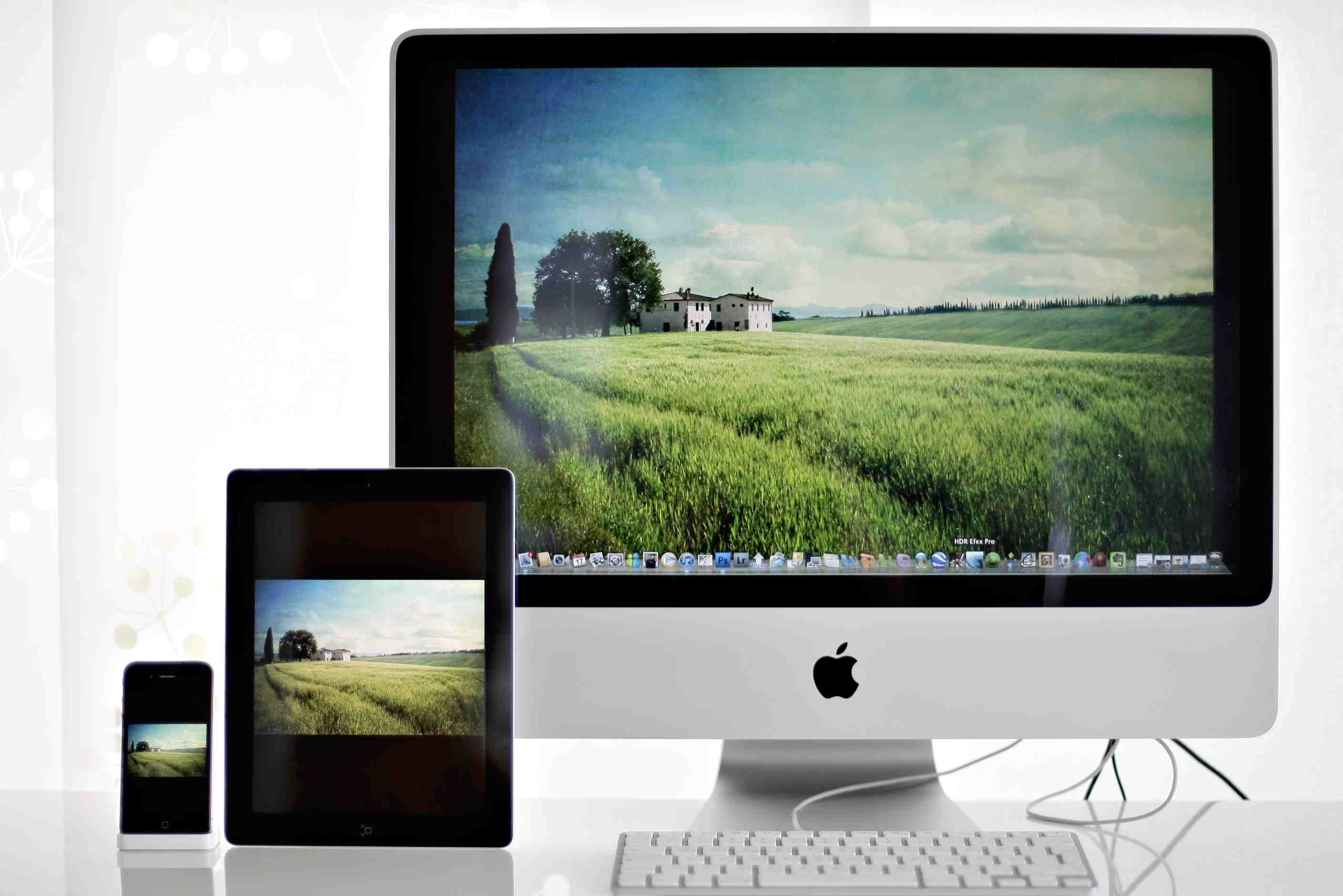 how to make desktop icons smaller mac