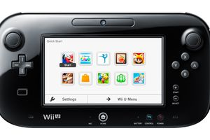 Wii U Gamepad Quick Start Menu