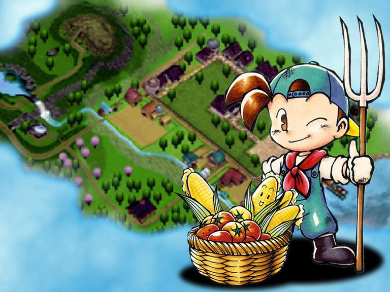 Harvest Moon - Back To Nature 1