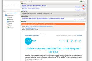 KMail 4.14 screenshot
