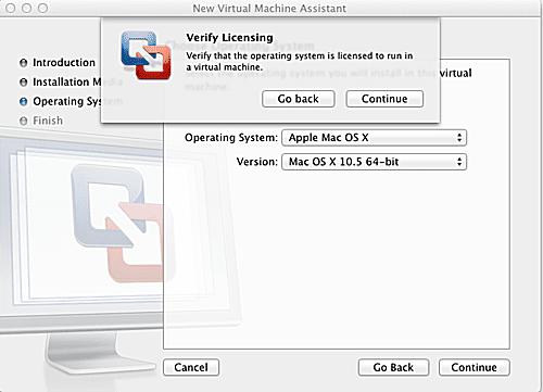 Virtualization of Leopard/Snow Leopard - VMware Fusion