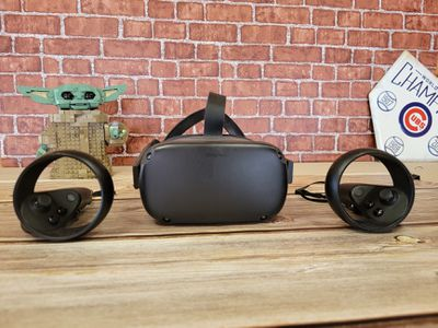 Oculus Quest on a table