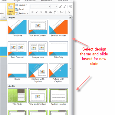 using multiple design themes in powerpoint
