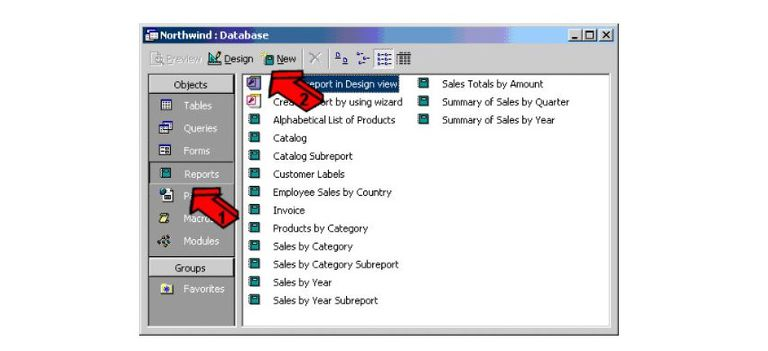 How to Create Reports in Microsoft Access