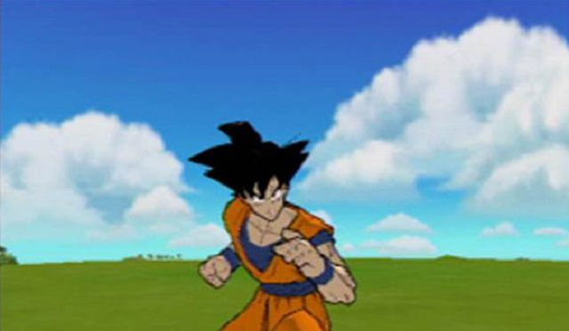 In-game character from Dragon Ball Z: Budokai 2 for PS2