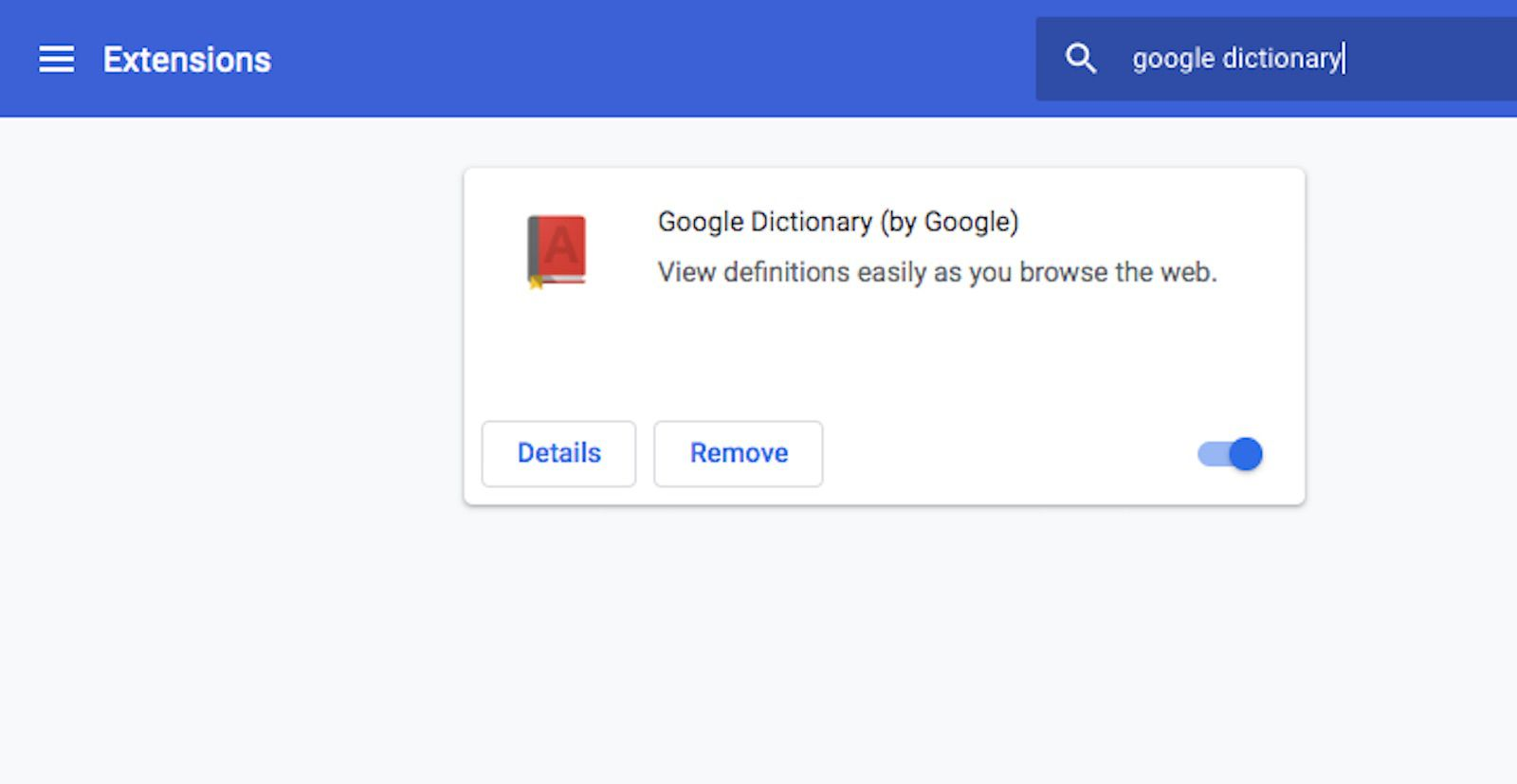 A screenshot of Chrome web browser.
