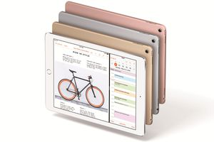 A variety of different iPad Pros
