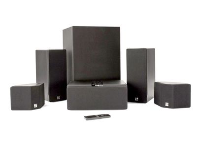 enclave audio cinehome 5 1 wire-free home theater system package