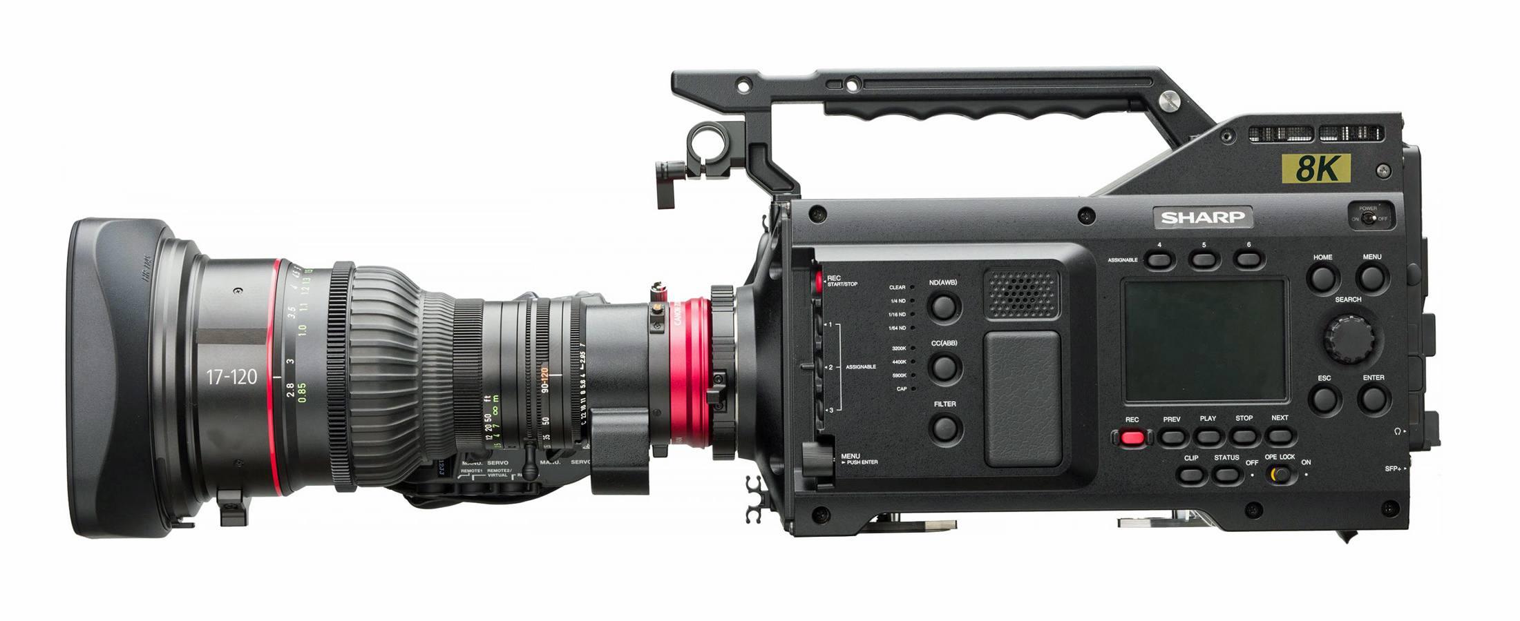 Sharp 8C-B60A 8K Camcorder
