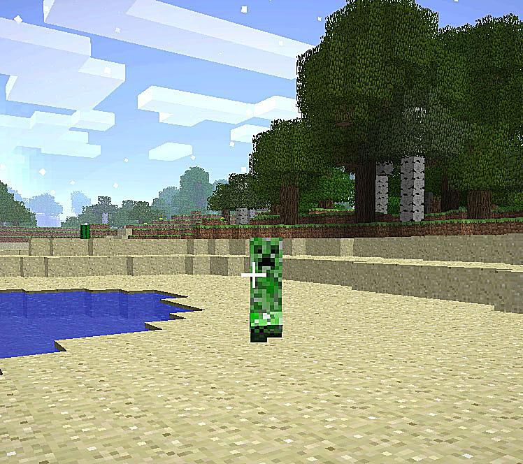 Surviving 'Minecraft's' Monsters