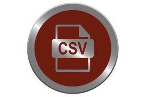 CSV button