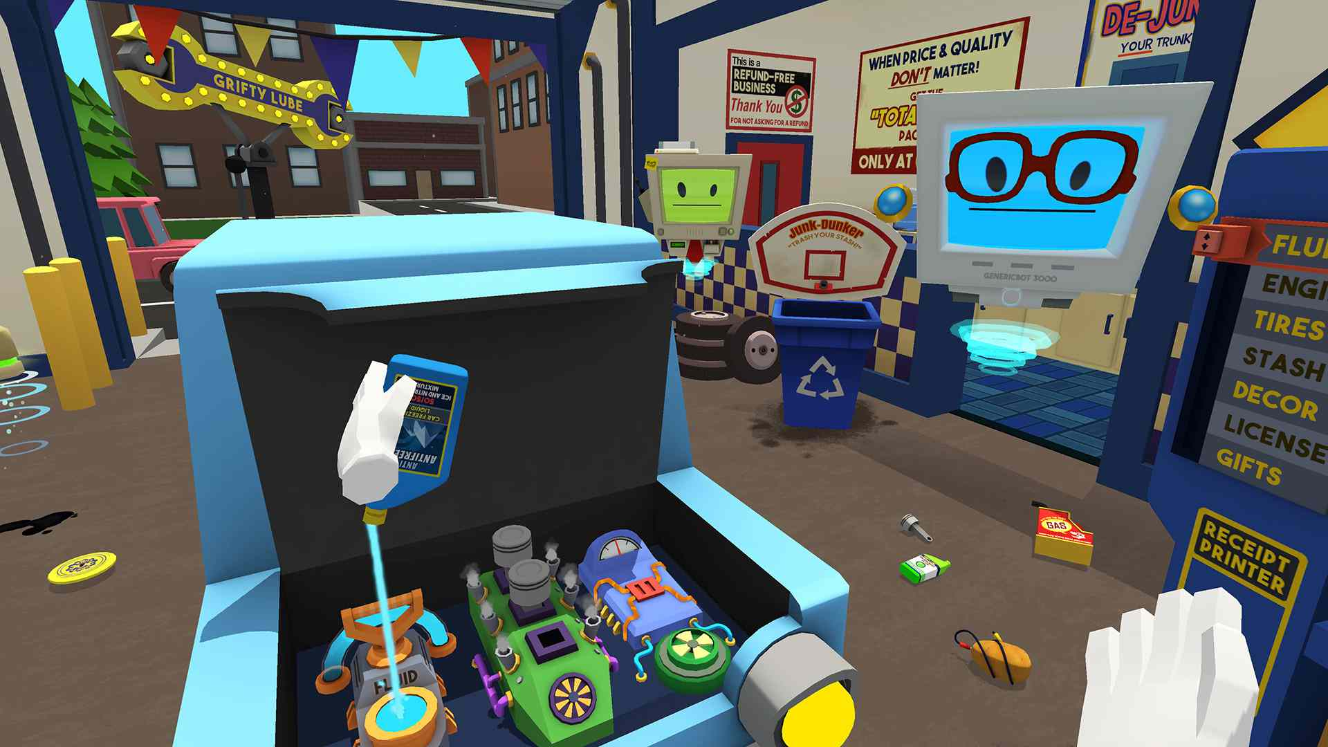 Job Simulator on Oculus Quest