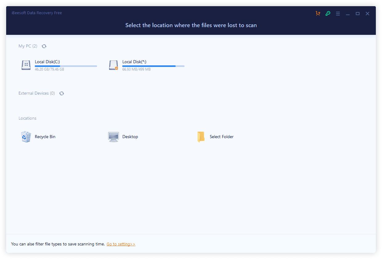 iBeesoft Data Recovery Free