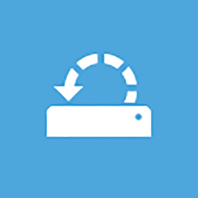 Screenshot of the System Restore icon on the Advanced Startup Options menu in Windows 10