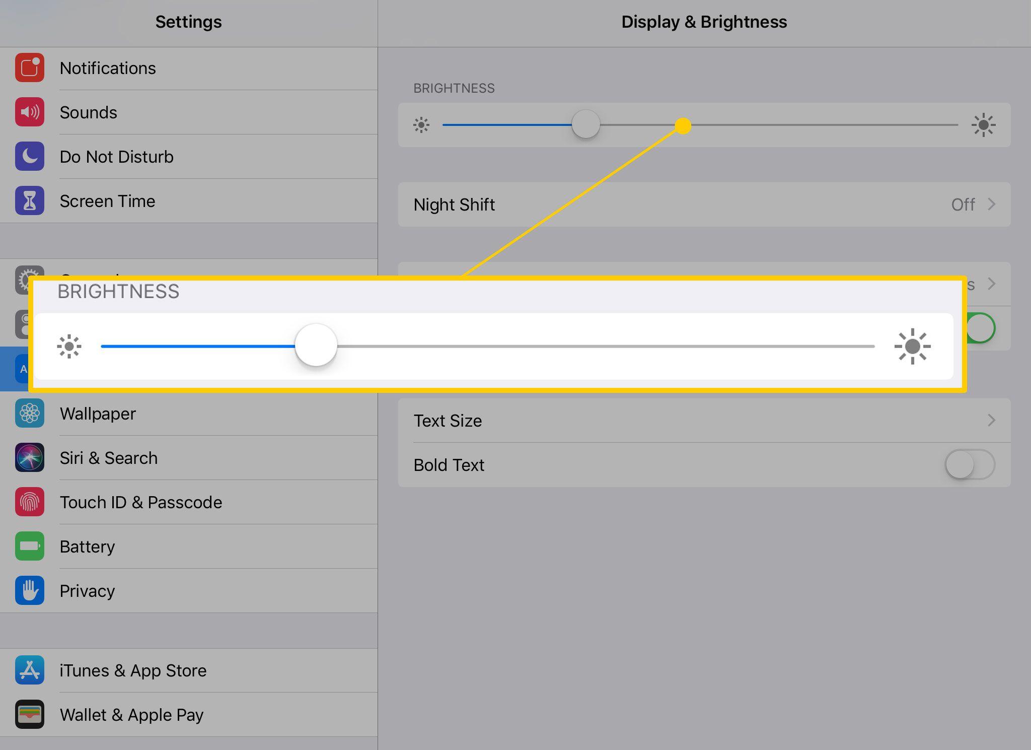 How to Adjust the iPad's Brightness