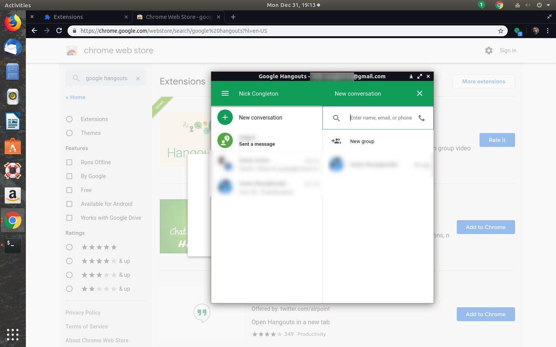Setup a Google Hangout Through Your Web Browser