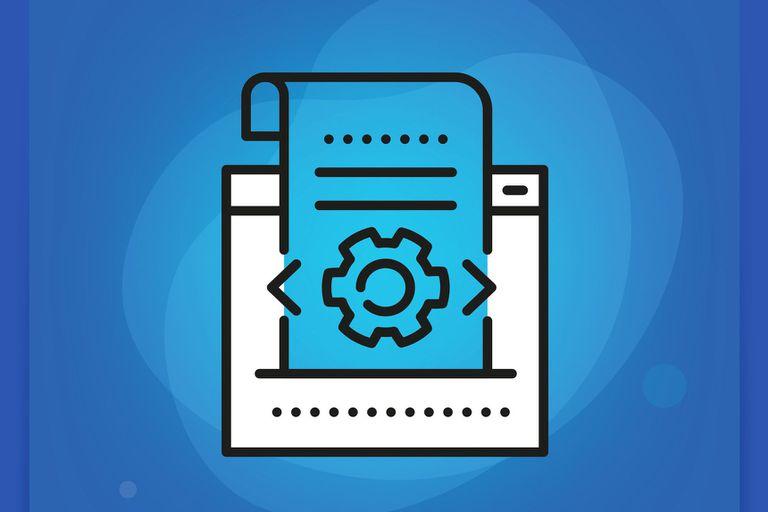Code List Line Icon