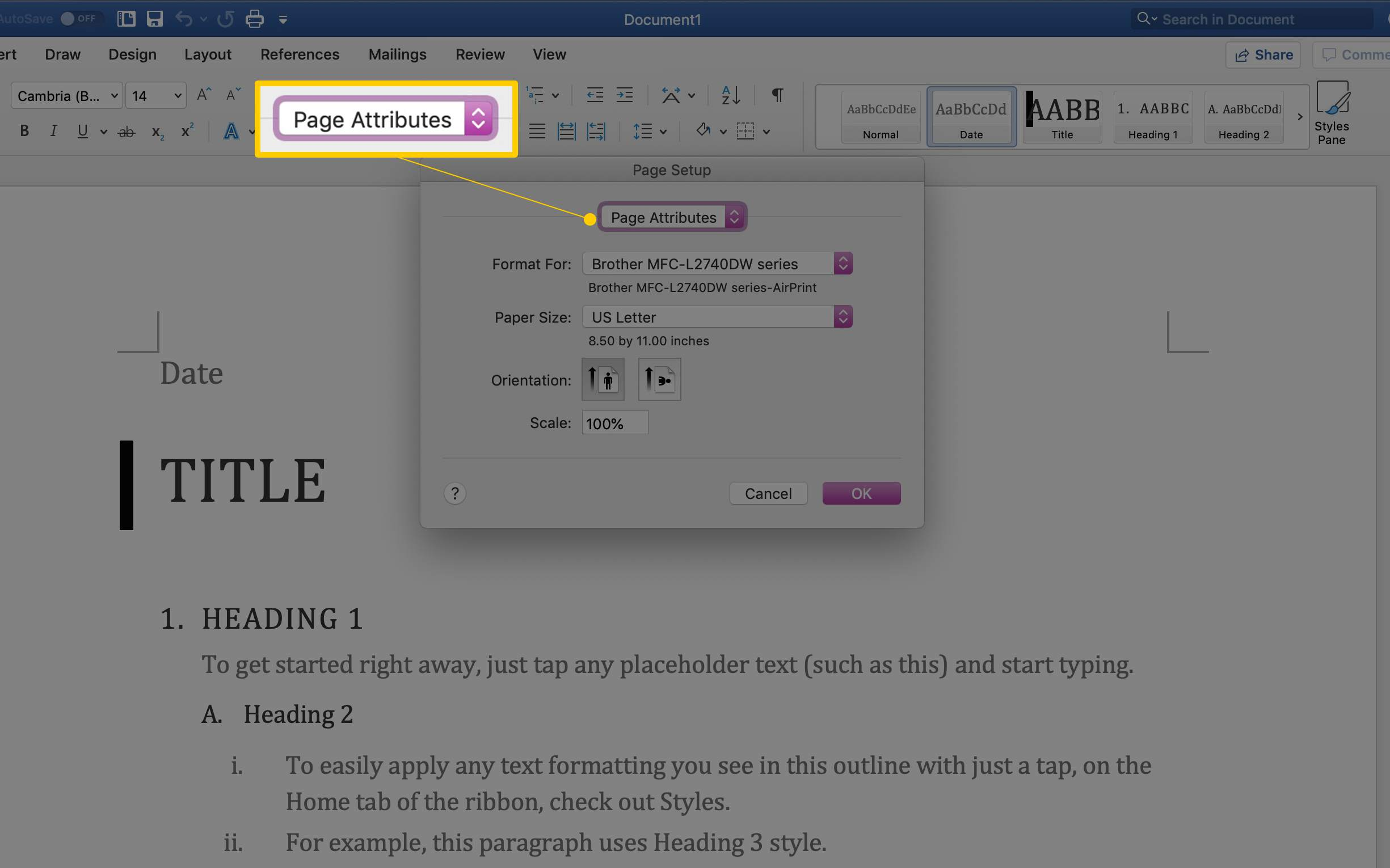 How to Change the Paper Size in Word