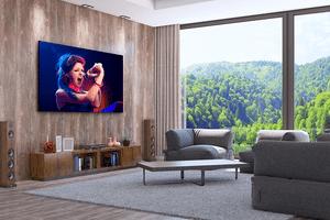 Huge 2K TV