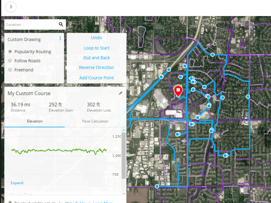 How to Use the Garmin Connect Course Creator Tool