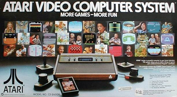 Atari video computer system advertisement