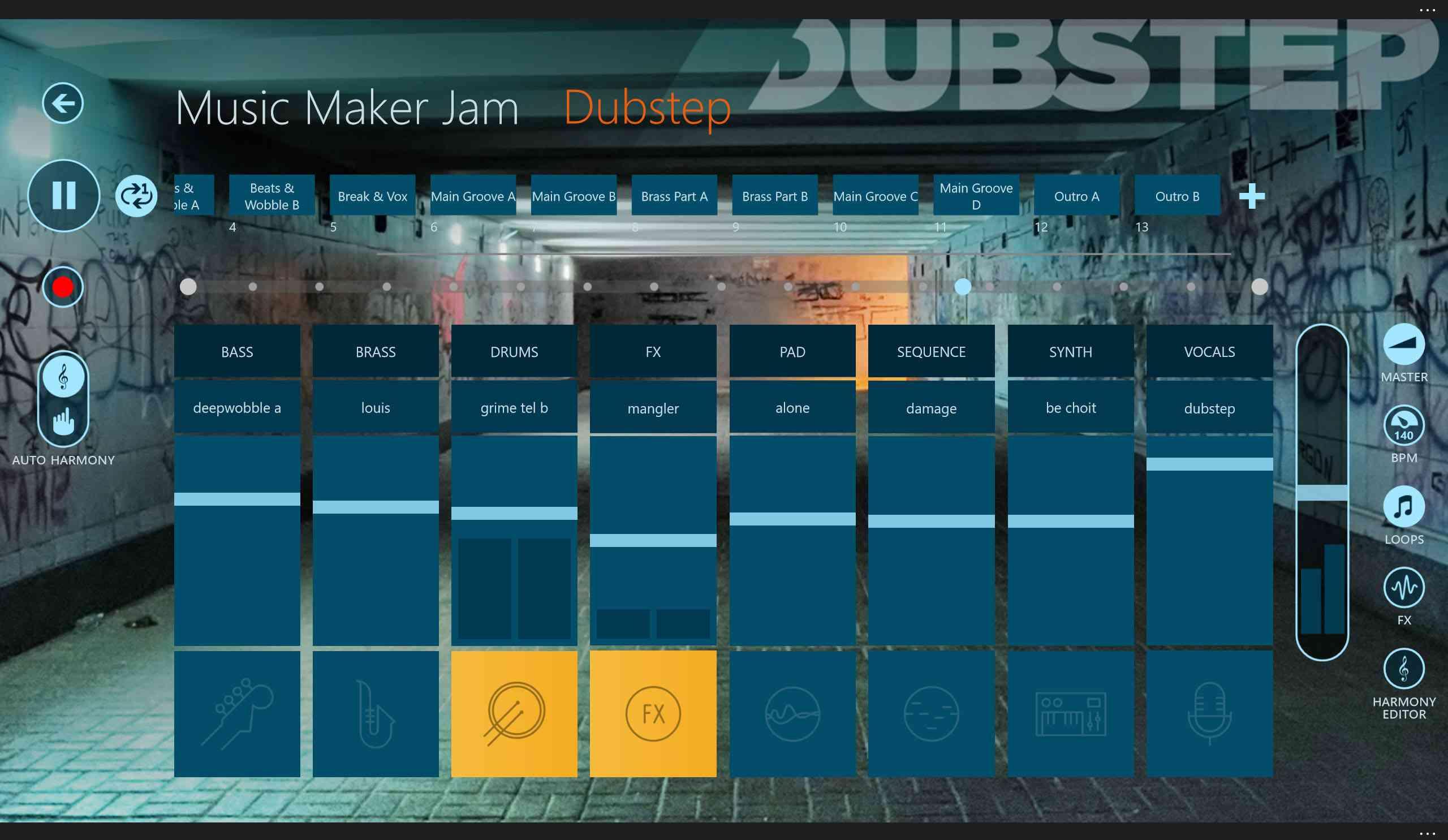 Music Maker Jam music app