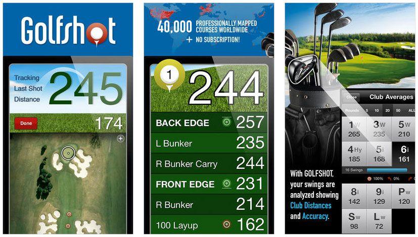 5 Best iPhone Golf GPS Rangefinder Apps