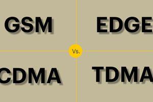 GSM vs EDGE vs CDMA vs TDMA