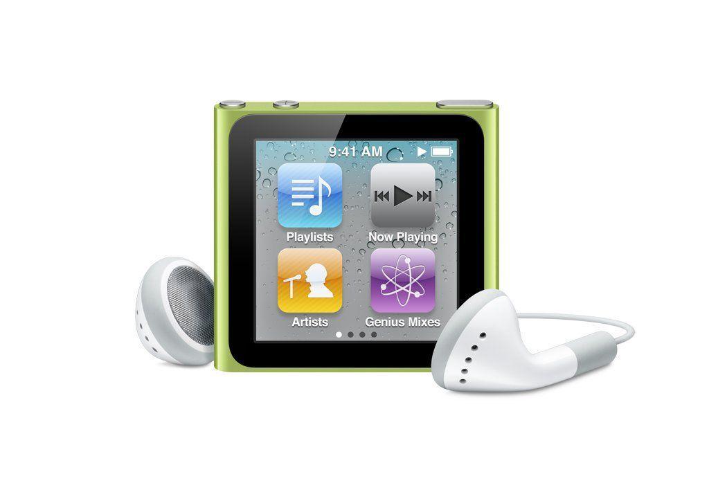 Apple iPod Nano 6th Generation 8GB 16GB A1446 MP3 Player All Colors