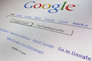 Google search screen shot