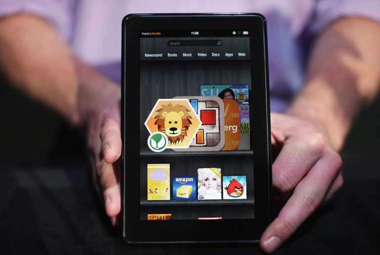 The Amazon tablet called the Kindle Fire