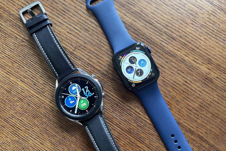 Samsung Galaxy Watch3 vs. Apple Watch Series 6