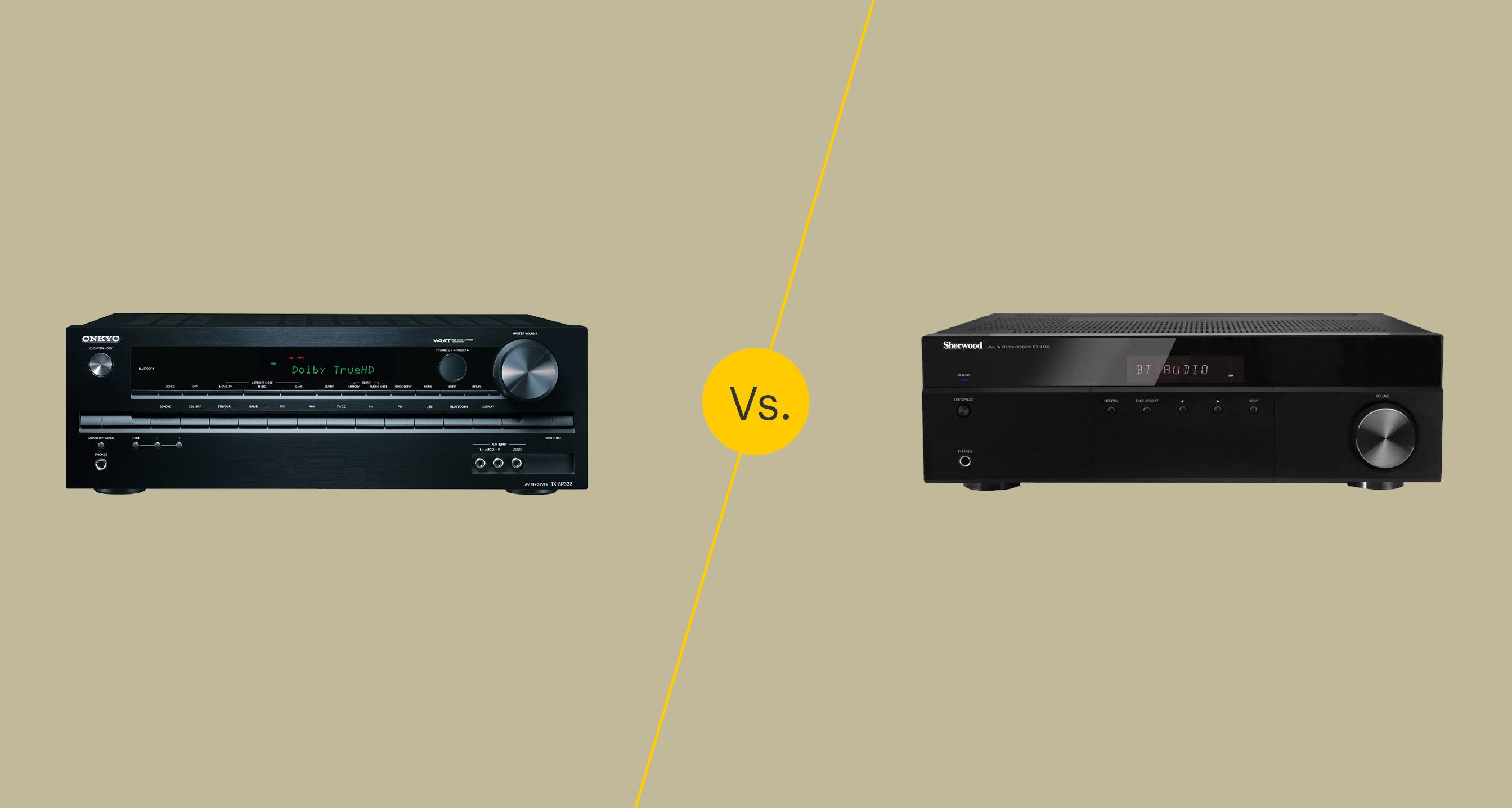 Home theater receiver vs Stereo receiver