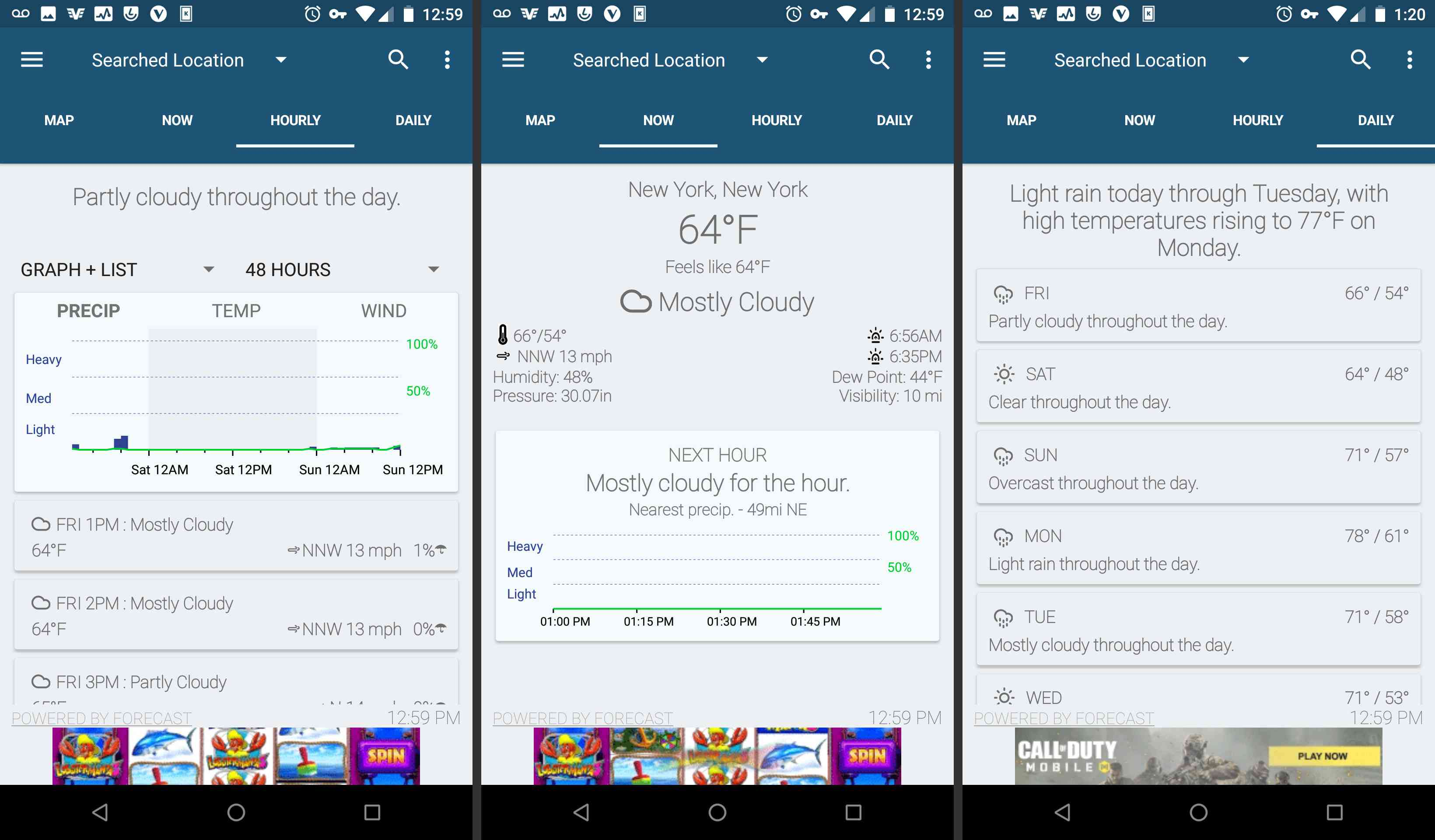 Android Arcus Weather