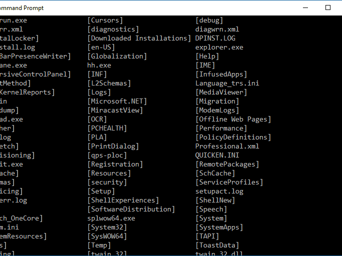 Command Prompt Commands: A Complete List (CMD Commands)