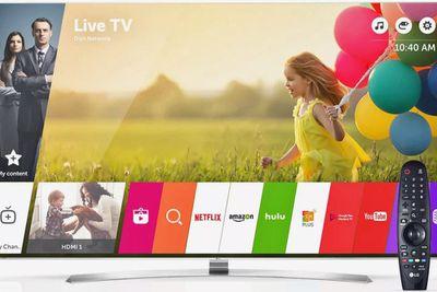 LG WebOS Smart TV.