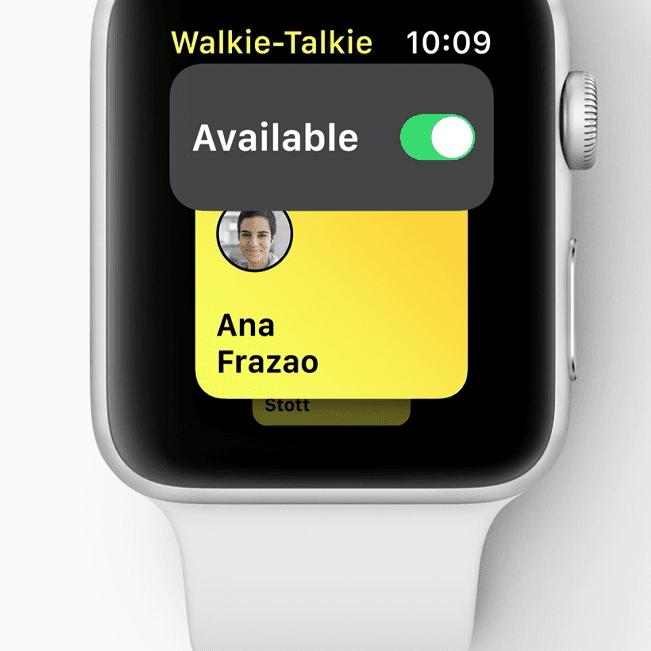 How to Use Walkie-Talkie on Apple Watch watchOS 5