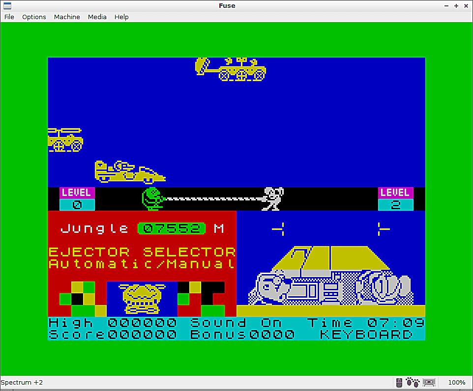 FUSE Spectrum game emulator