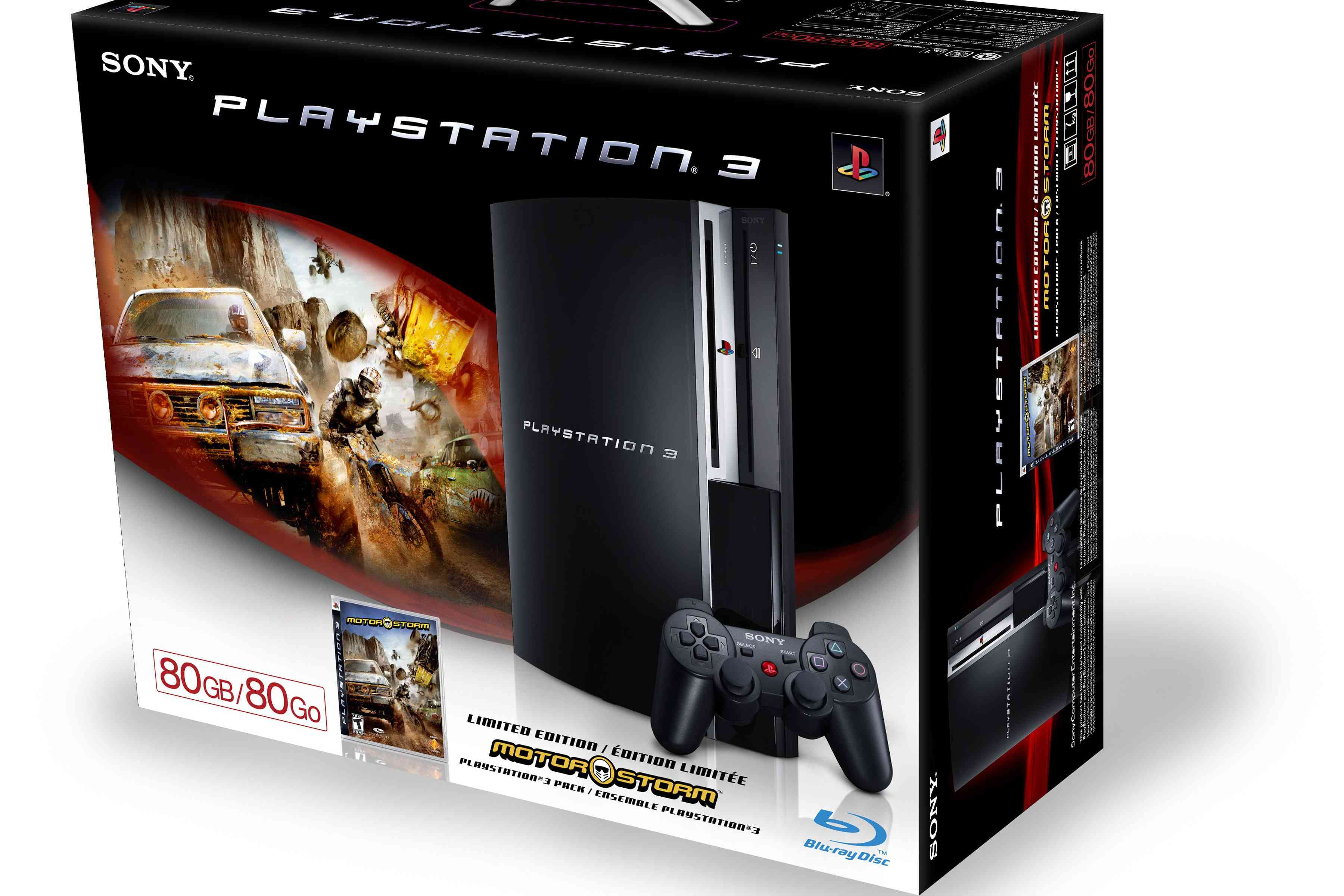 Specs And Details About The 80gb And 60gb Ps3