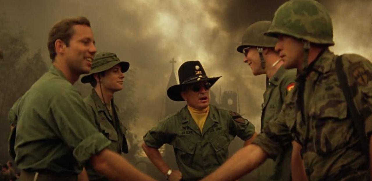 Screen captures of Apocalypse Now