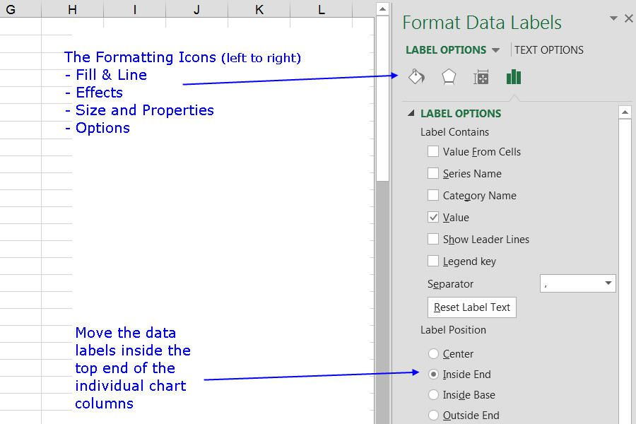 how to change the color of charts in excel