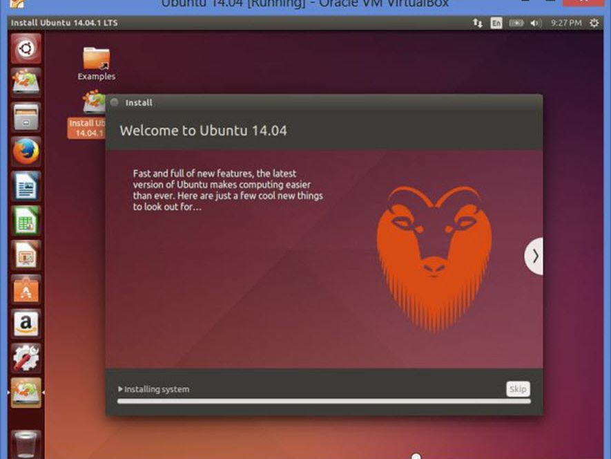 Install Ubuntu Linux In Windows Using VirtualBox