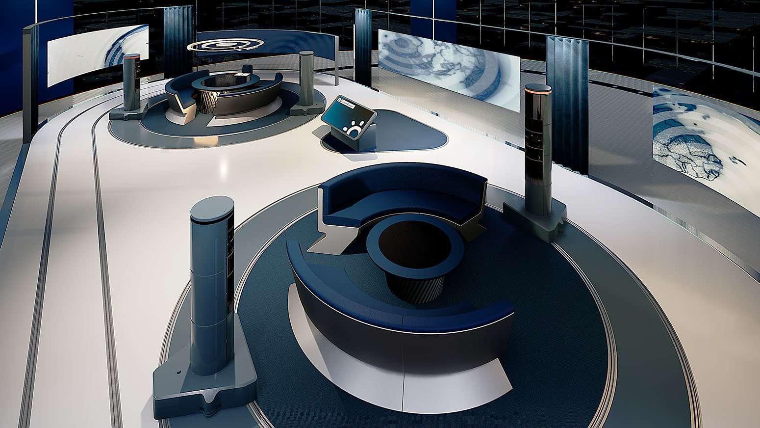 Concept image for The News Pavilion.