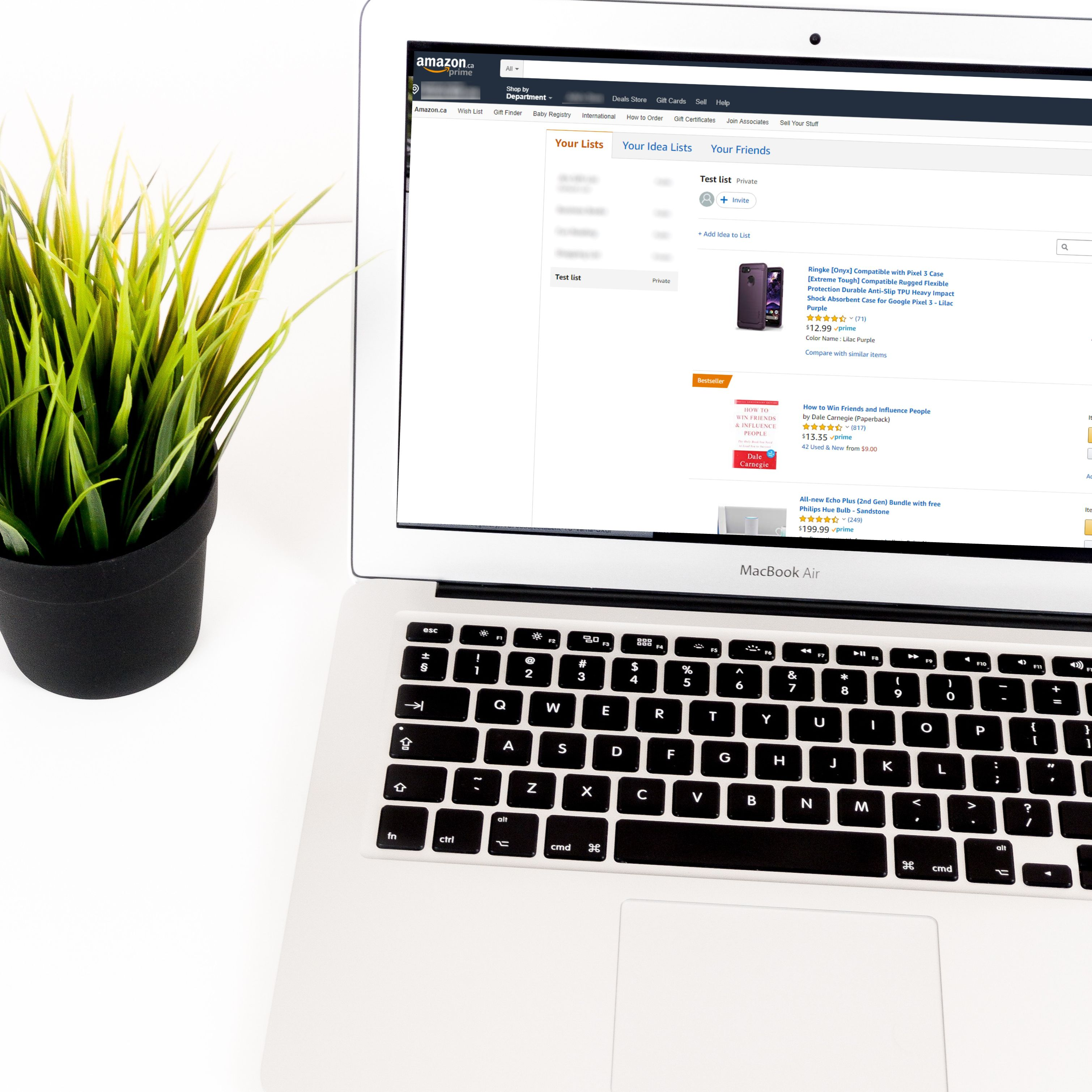 How to Make and Share an Amazon Wish List