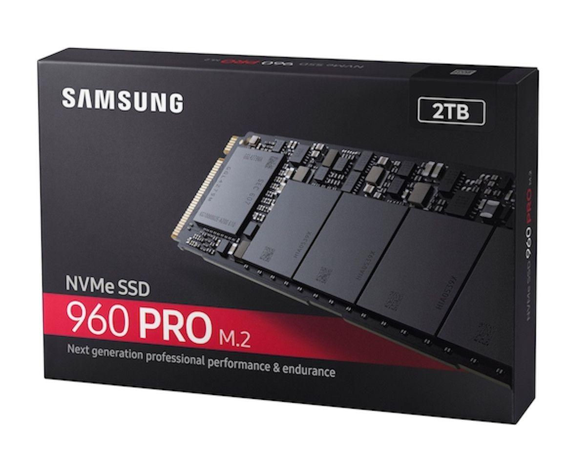 Samsung 960 Pro M.2 drive