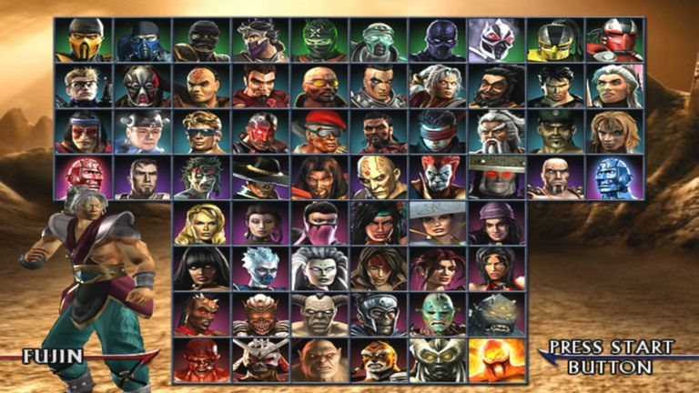 Screenshot of Mortal Kombat: Armageddon