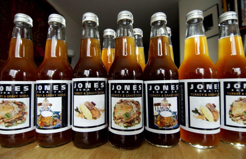 A limited editing soda from Jones Soda Co.