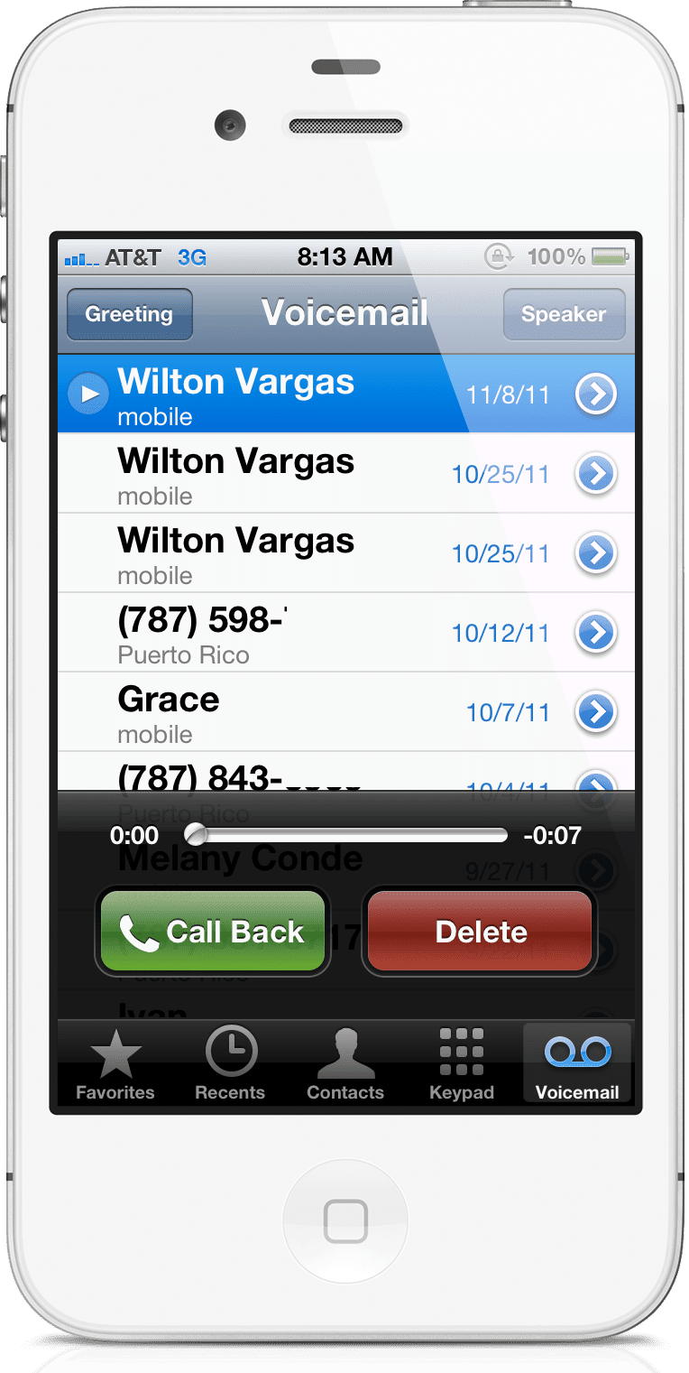 visual voicemail iphone does your phone visual voicemail 13250