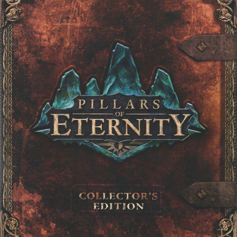Pillars of Eternity Collector's Edition Box Art