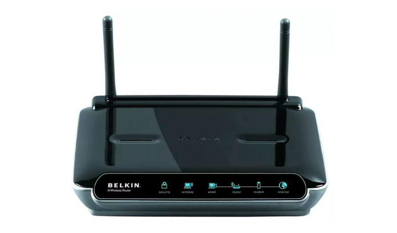 A Belkin router